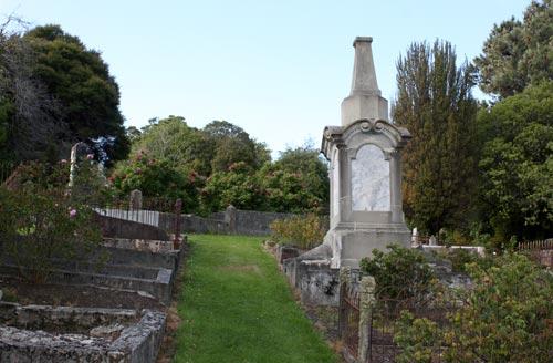 Thomas Bracken's grave