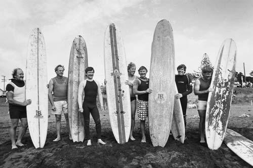 Surfing contest, 1989
