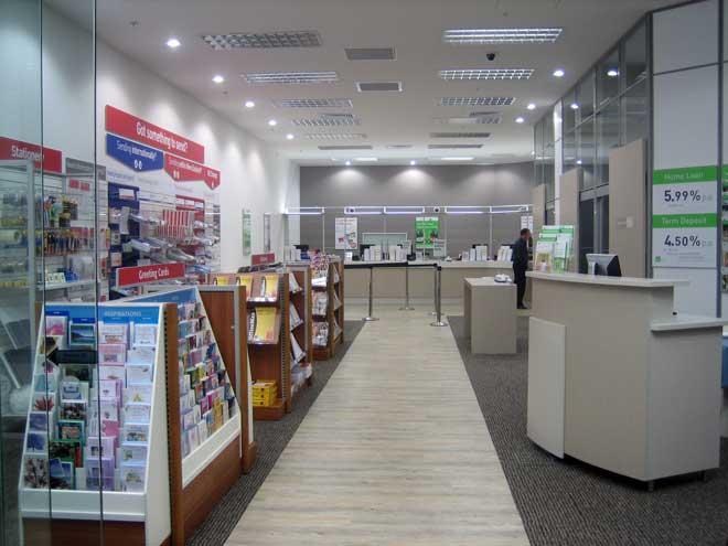 PostShop interior