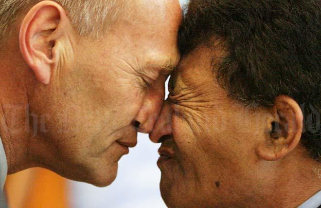 Maori Greeting Hongi: Māori Investment