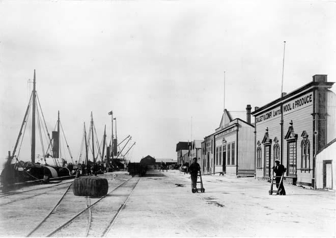 Port Ahuriri wharf
