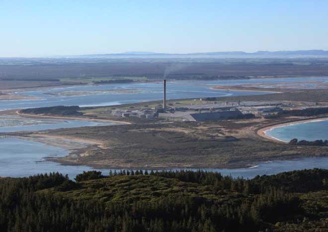 Aluminium smelter, Tīwai Point