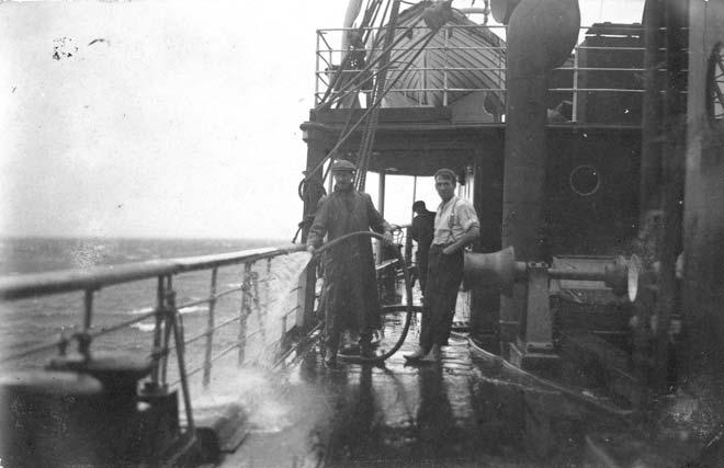 Crew on the Rarawa