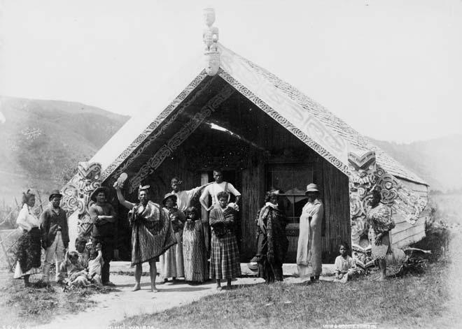 Hinemihi meeting house