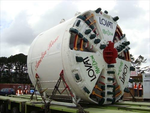 Amelia Rose tunnel boring machine