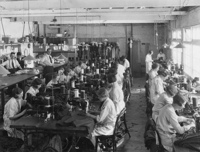 Women Machinists Clothing And Footwear Manufacturing