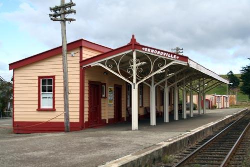 Ormondville railway station