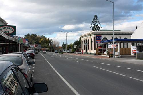 Main street, Waipawa, 2009