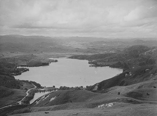 Lake Tūtira, about 1939