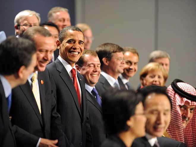 G20 leaders in London, 2009