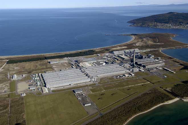 Tīwai smelter, Bluff, Southland