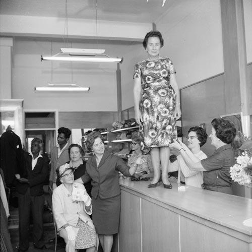 Op shop volunteers, 1967