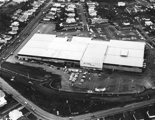 St Lukes shopping mall, 1971
