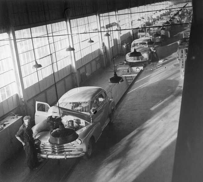 Car Assembly Line Manufacturing An Overview Te Ara