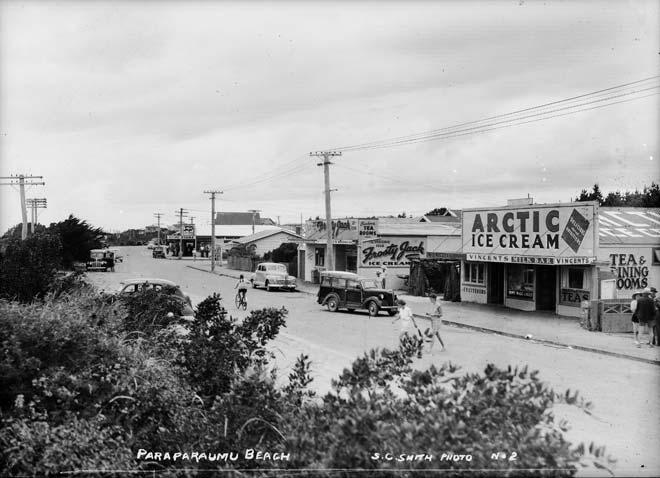 Paraparaumu Beach Stores 1940s Food Shops Te Ara