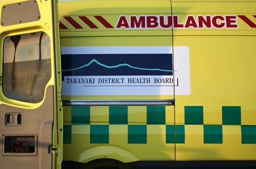 Taranaki District Health Board logo