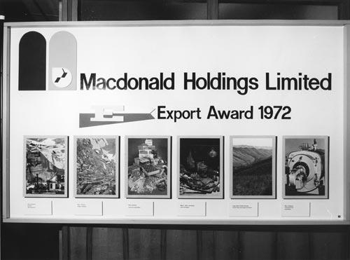 Export award, 1972