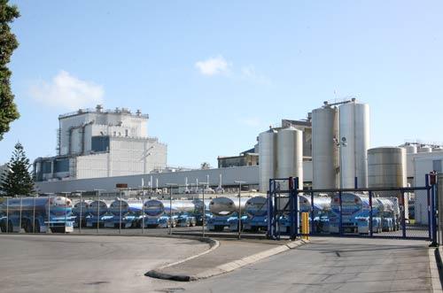Fonterra dairy factory, Whareroa