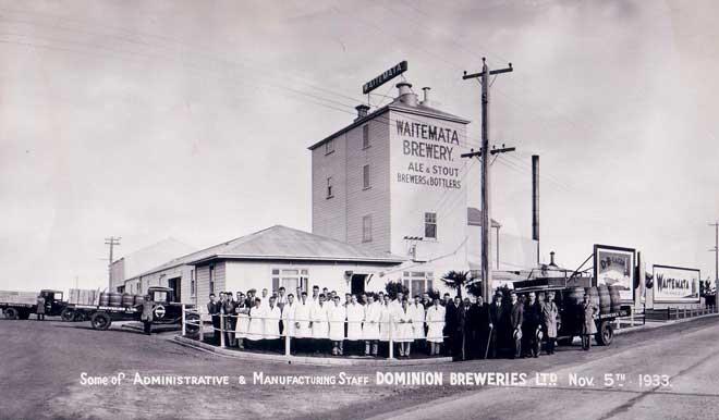 Waitematā brewery