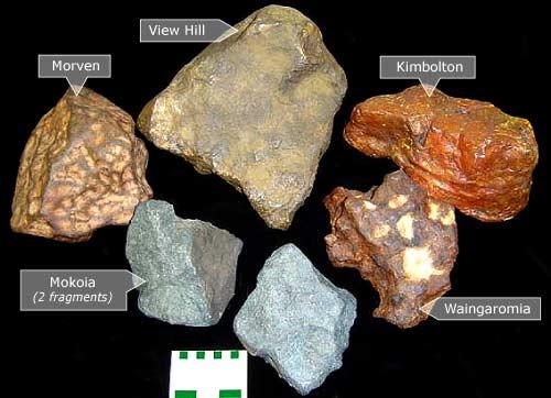 New Zealand meteorites