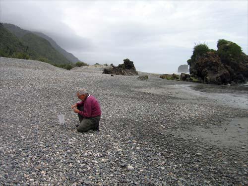Collecting stones, Granity