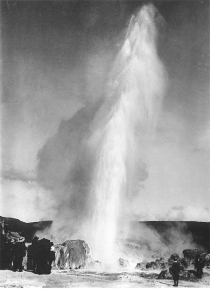 Wairoa geyser, 1906
