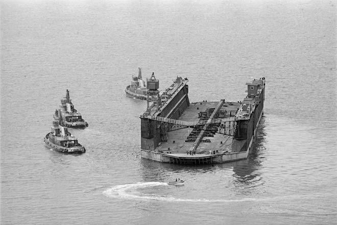 Wellington's Jubilee dock