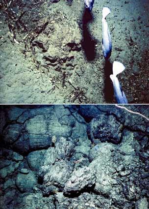 Submarine volcanic activity