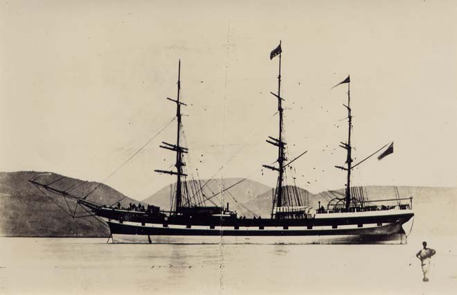 The Rakaia, Port Chalmers