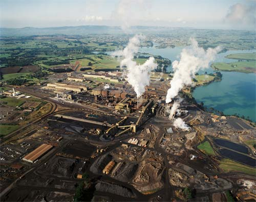 New Zealand Steel mill