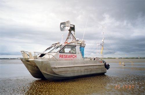 Research vessel, Manukau Harbour