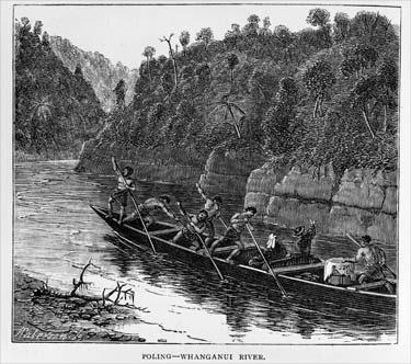 Poling upstream
