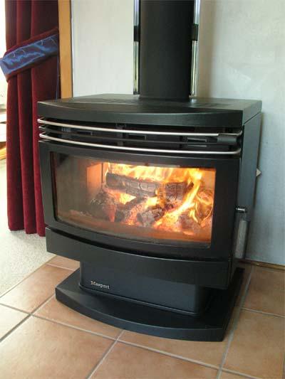 Cleanburning wood    burner        Atmosphere     Te Ara
