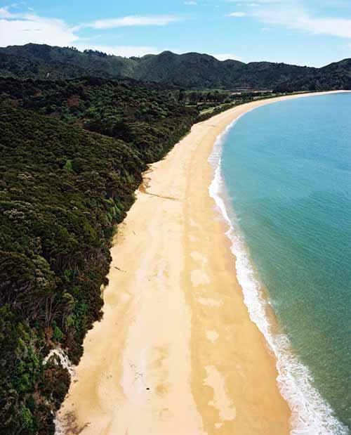 Reflective beach