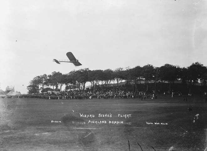 'Wizard' Stone's flight