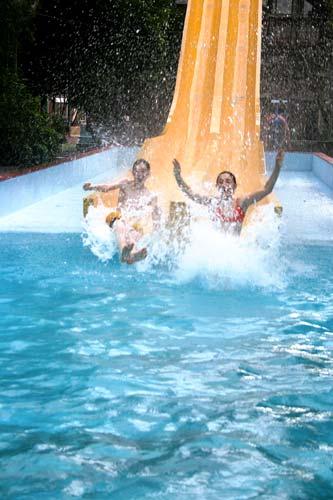 Water slide, Waiwera