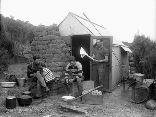 Gum-digger's hut