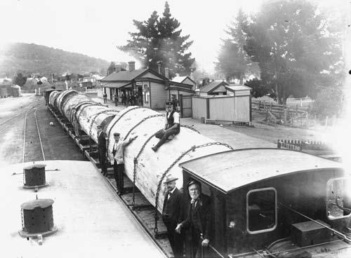 Whāngārei railway station, 1908