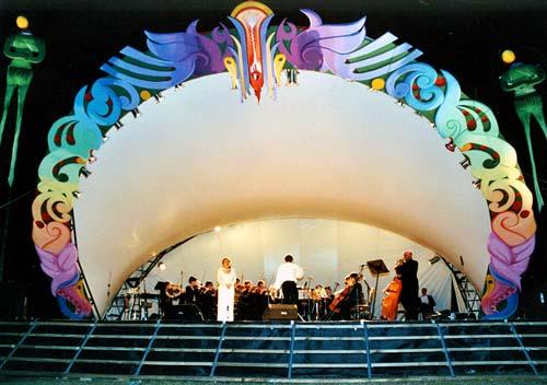 Open-air concert