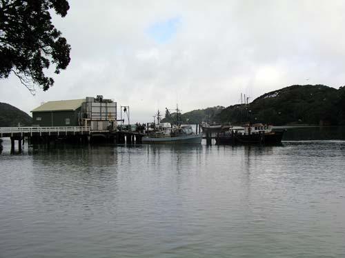 Mangōnui wharf