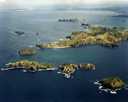 The Cavalli Islands