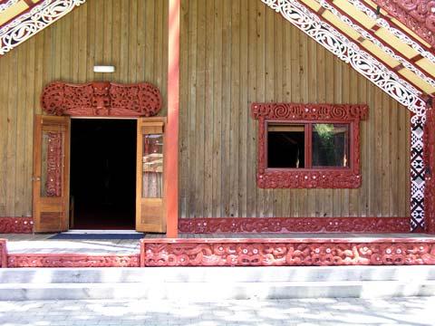 Wharenui doorway