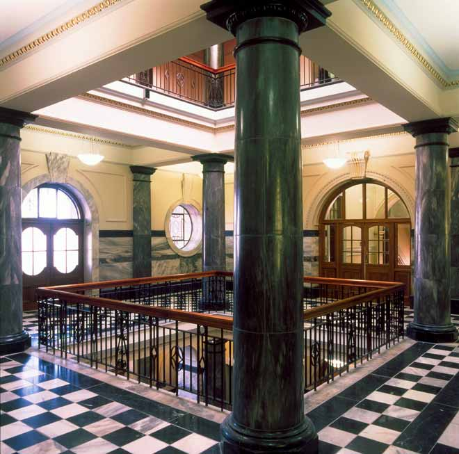 Foyer, Parliament Buildings
