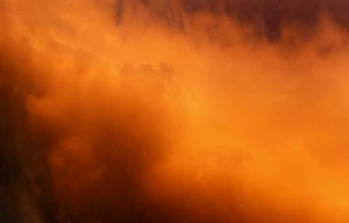 Rain-bearing cloud