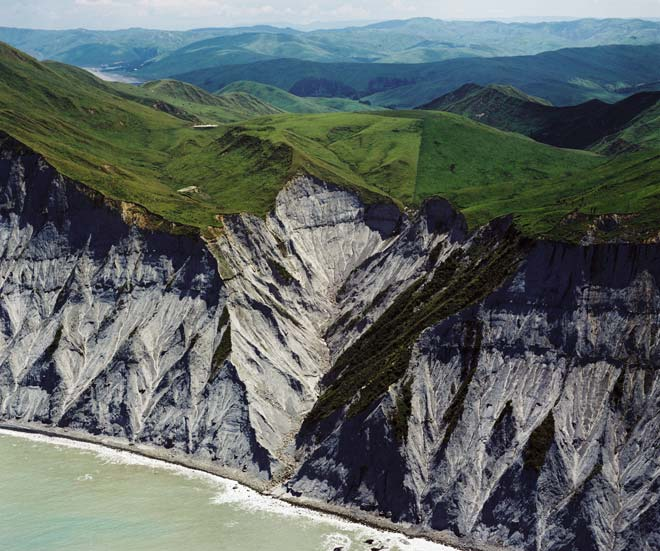 Papa cliffs, Hawke's Bay