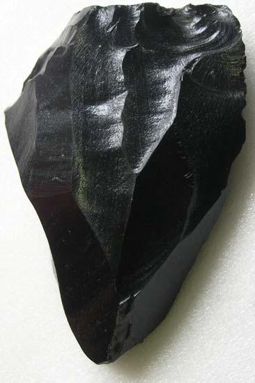 Obsidian knife