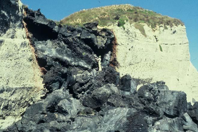 Lava Cascade, Macauley Island