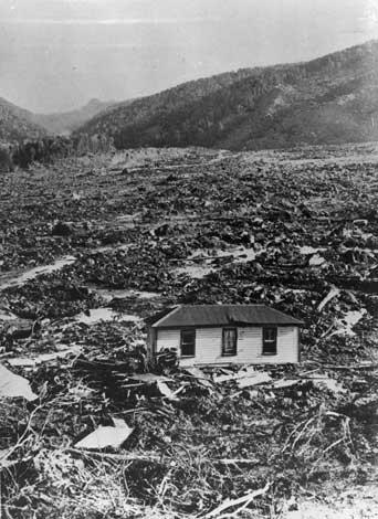 Mātakitaki landslide