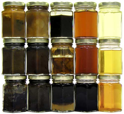 Types of oils