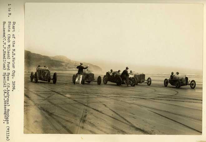 New Zealand Motor Cup, Muriwai Beach